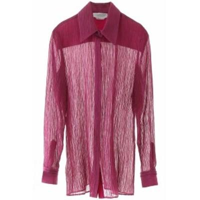 GABRIELA HEARST/ガブリエラハースト ドレスシャツ ROMANESCO Gabriela hearst crepe shirt レディース 春夏2020 220117 T025 ik