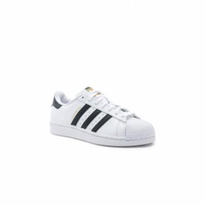 アディダス adidas Originals メンズ スニーカー シューズ・靴 Superstar Foundation White & Black & White