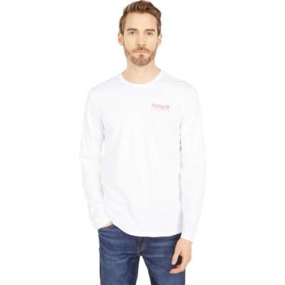 ハーレー Hurley メンズ 長袖Tシャツ トップス One & Only Cascade Long Sleeve Tee White