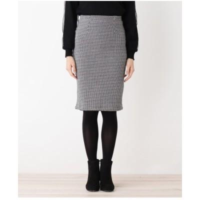 【WEB限定・洗える】裏シャギータイトスカート