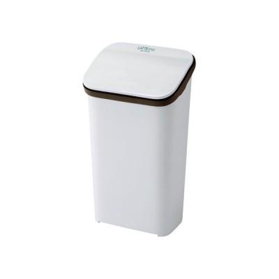 ラテスタイル プッシュダストボックス20 W ホワイト 304×228×538(mm) GLAT009 ごみ