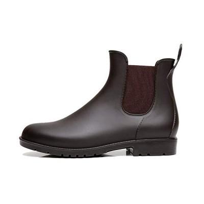Taring レインシューズ レディース レインブーツ メンズ ショートブーツ サイドゴア 雨靴 オシャレ 無地 防水 台風 耐滑 通勤 通