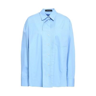 セドリック シャルリエ CEDRIC CHARLIER シャツ スカイブルー 46 コットン 100% シャツ