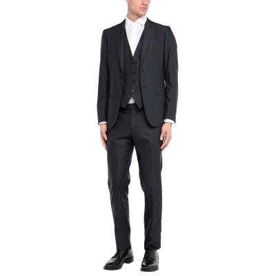 パル ジレリ PAL ZILERI スーツ ブラック 48 ウール 58% / ポリエステル 42% スーツ
