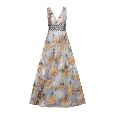 LEXUS ロングワンピース&ドレス グレー 8 ポリエステル 100% ロングワンピース&ドレス