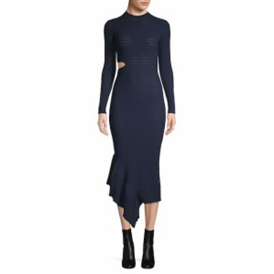 ロニーコボ レディース ワンピース Charlize Asymmetrical Ruffle Dress