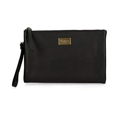 Pepe Jeans Lica Messenger Bag, 16 cm, Black  (Black) - 7674961 並行輸入品