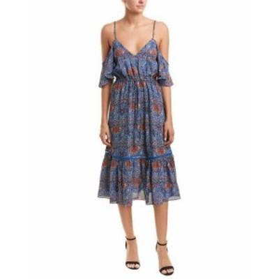 BB Dakota BB ダコタ ファッション ドレス Jack By Bb Dakota Cold-Shoulder Midi Dress