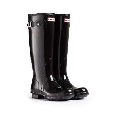 ハンター レディース ブーツ・レインブーツ シューズ Hunter Women's Original Tall Gloss Boot