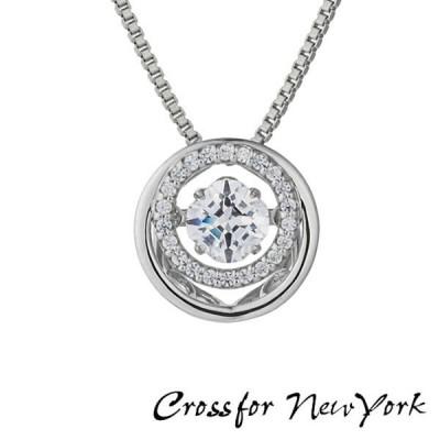 ポイント最大20倍 Crossfor New York クロスフォーニューヨーク ダンシングストーン 筧美和子 デザイン ネックレス レディース NYP-623 キュービックジルコニア
