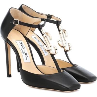 ジミー チュウ Jimmy Choo レディース パンプス シューズ・靴 lexica 100 leather pumps Black