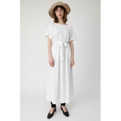 【マウジー】 A LINE CUT ドレス レディース O/WHT1 FREE MOUSSY