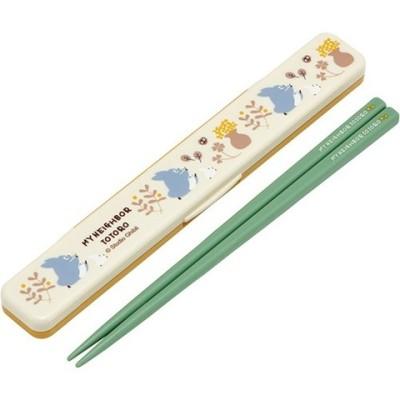 音の鳴らない箸・箸箱セット トトロ KURASHI ABC3 (1セット)