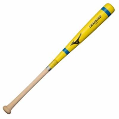 【ミズノ】 少年軟式バット 打撃可能 トレーニングバット 木製 ジュニア キッズ 子ども 1CJWT19978-45