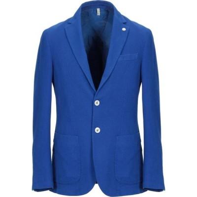 ドメニコ タリエンテ DOMENICO TAGLIENTE メンズ スーツ・ジャケット アウター blazer Blue