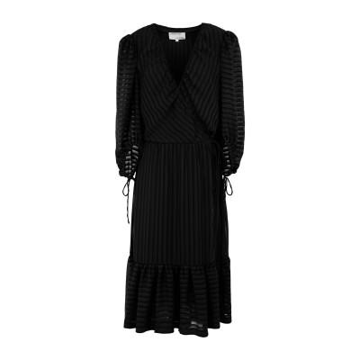 DESIGNERS, REMIX 7分丈ワンピース・ドレス ブラック 34 リサイクルポリエステル 100% 7分丈ワンピース・ドレス