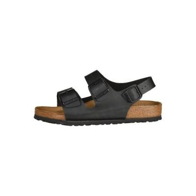 ビルケンシュトック サンダル メンズ シューズ MILANO - Sandals - black