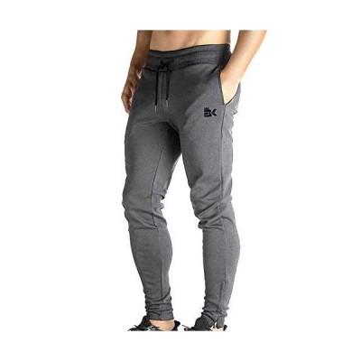 BROKIG ジョガーパンツ メンズ トレーニングパンツ ジム パンツ フィットネス 両サイドポケット付き 通気性 ストレッチ 筋トレ トレ