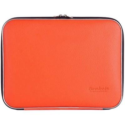 Bombata(ボンバーター) イタリアデザイン Bellagio クラッチバック PCバック 13インチ対応〔オレンジ〕