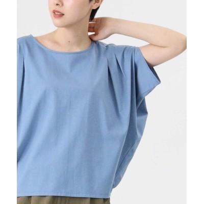 tシャツ Tシャツ 【HONEYSUCKLE ROSE】コクーンスリーブTシャツ