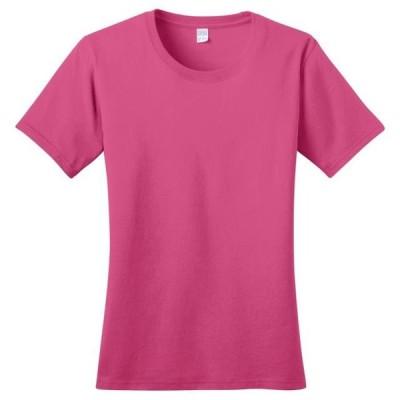 レディース 衣類 トップス Port & Company Women's Comfort Ring Spun Essential T-Shirt Tシャツ