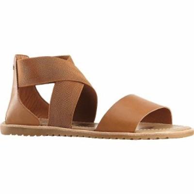 ソレル Sorel レディース サンダル・ミュール シューズ・靴 ella sandal Camel Brown S