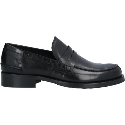 ボエモス BOEMOS メンズ ローファー シューズ・靴 Loafers Black