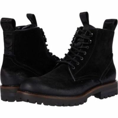 スティーブ マデン Steve Madden メンズ ブーツ シューズ・靴 Mackee Logger Boot Black Suede