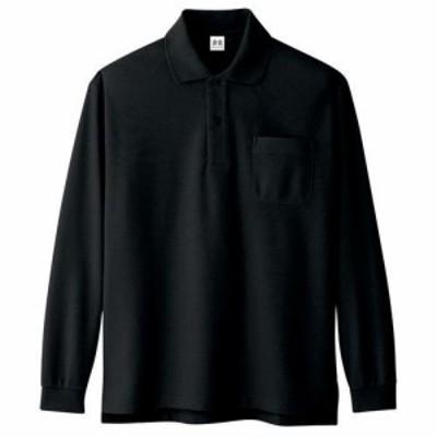 コーコス信岡 A-138 超消臭 長袖シャツ 5L ブラック