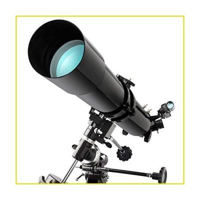 送料無料 天体望遠鏡 HGERFXC Astronomical Telescope, 80MM HD High-All-Coated Optical Lens, Portable Tripod Outdoor Star-Gazing Trave