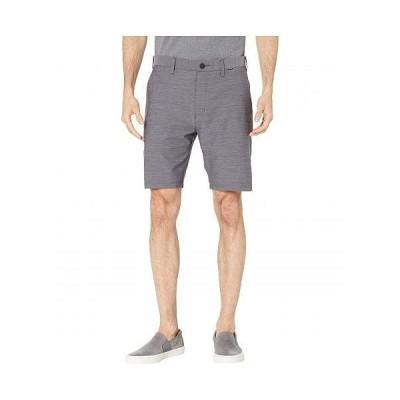 """Hurley ハーレー メンズ 男性用 ファッション ショートパンツ 短パン 19"""" Dri-Fit Cutback Walkshorts - Dark Grey"""