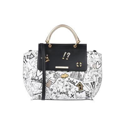 TUA BY BRACCIALINI ハンドバッグ ホワイト 紡績繊維 ハンドバッグ