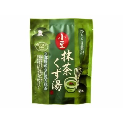[日東食品工業] 小豆抹茶くず湯 16×5袋 広島 粉末 小豆 抹茶 くず湯