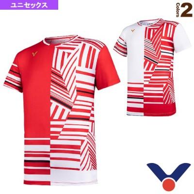 ヴィクター テニス・バドミントン ウェア(メンズ/ユニ)  ゲームシャツ/Tournament Series/ユニセックス(T-10002)