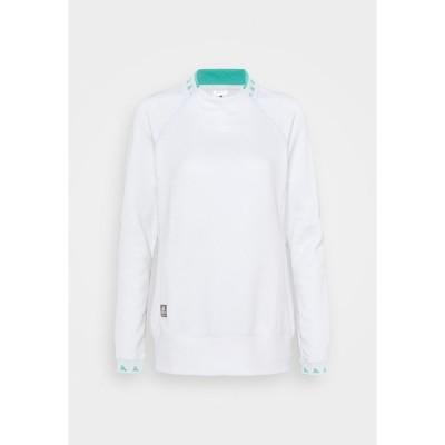 アディダス カットソー レディース トップス EQUIPMENT CREW  - Long sleeved top - white