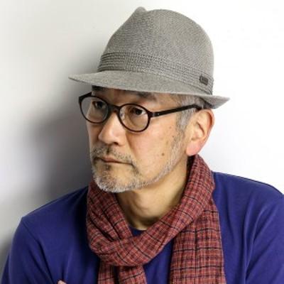 中折れハット メンズ 大きいサイズ M L LL 3L ROYAL STETSON 帽子 リネン 涼しい 日本製 ステットソン