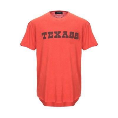 ディースクエアード DSQUARED2 T シャツ レッド XS コットン 100% T シャツ