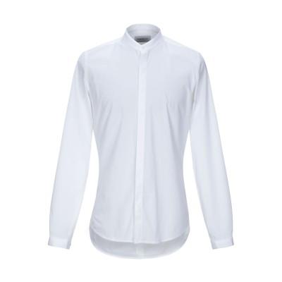 ハマキホ HAMAKI-HO シャツ ホワイト XL コットン 97% / ポリウレタン 3% シャツ