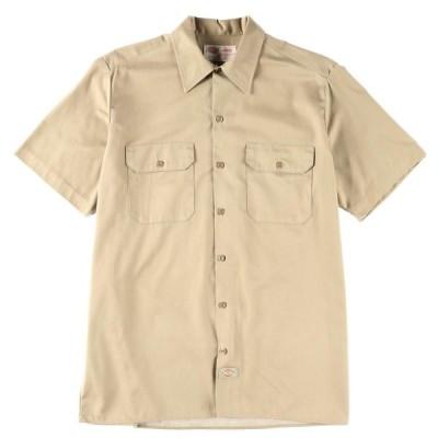 ディッキーズ Dickies 半袖 ワークシャツ メンズL /wbb6071