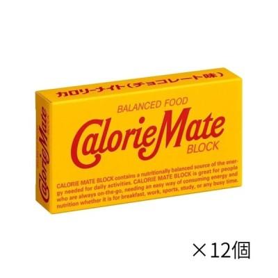 大塚製薬 2本カロリーメイト ブロックチョコレート ×12個 栄養補助食品