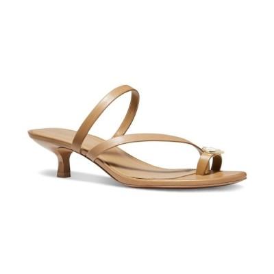 マイケルコース サンダル シューズ レディース Letty Kitten-Heel Dress Sandals Dark Camel