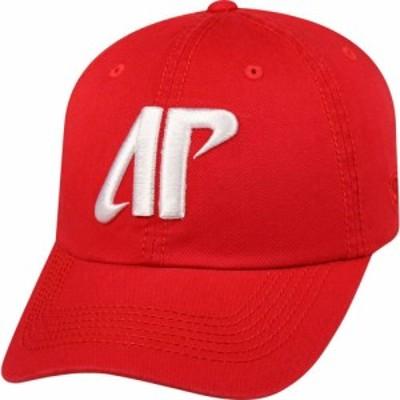 トップオブザワールド Top of the World メンズ キャップ 帽子 Austin Peay Governors Red Crew Adjustable Hat