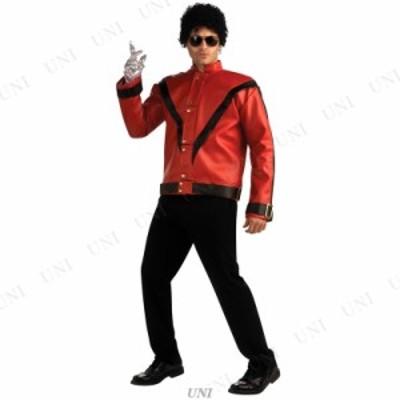 コスプレ 仮装 マイケルジャクソン レッドスリラージャケット M コスプレ 衣装 ハロウィン 仮装 アイドル ジャケット メンズ コスチュー