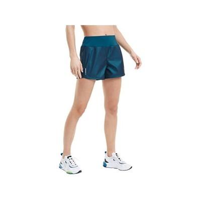 """プーマ Train Shimmer 4"""""""" Shorts レディース ショートパンツ ズボン 半ズボン Digi/Blue"""