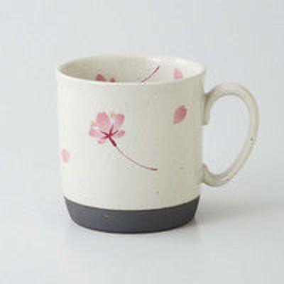 西海陶器西海陶器 桜の舞 マグ 桃 66419 5個(直送品)