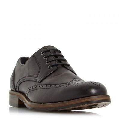 バーティ Bertie メンズ 革靴・ビジネスシューズ ブローグ シューズ・靴 Packman Eyelet Chunky Brogues Black