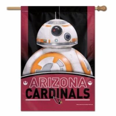 WinCraft ウィンクラフト スポーツ用品  WinCraft Arizona Cardinals 28 x 40 Star Wars Single-Sided House Banner