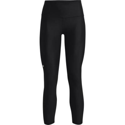 アンダーアーマー カジュアルパンツ ボトムス レディース Under Armour Women's HeatGear High Rise 7/8 Leggings Black/White