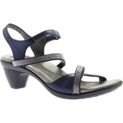 ナオト Naot レディース サンダル・ミュール シューズ・靴 Innovate Heeled Sandal Polar Sea Leather/Microfiber