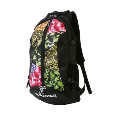 スポルディング(SPALDING) バスケットボール バックパック ケイジャー ミックスカモ CAGER MIX CAMO ブラック 40-007MC 1000 リュック バッグ 鞄